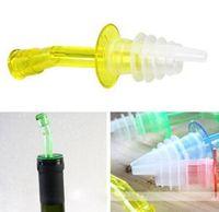 olive oil - Holiday Sale XDispenser Liquor Bottle Pourer Wine Oil Flow Olive Pour Spout Stopper Set With Low Price