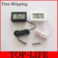 Wholesale 7029 Small and convenient electronic thermometer aquarium thermometer without battery