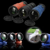 Wholesale 26 x HD Clear Zoom Optical Monocular Telescope Hiking Sport Camping Night Vision Green Coated mm m m x
