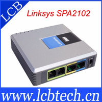 Wholesale Unlocked Linksys SPA2102 Voip gateway fxo High quality