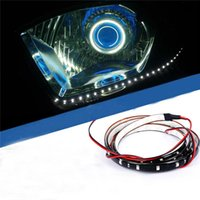 Wholesale cm SMD White Green Blue Red Yellow Waterproof Lights High Power Car Auto Decor Flexible LED Strips