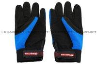 Wholesale Snap Mechanic - Wholesale-Snap Style Professional Mechanics Gloves Blue [GL-12-BE] M,L,XL free shipping
