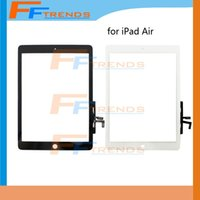 apple parts suppliers - White Black Touch Screen Glass Digitizer Glass Touch Panel for iPad Air Replacement Repair Parts High Quality Factory Supplier