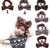 baby beach accessories - 6 Color Princess Baby Kids Sand Beach Hair Bands Handmade Flower Big Bowknot Ajustable Bandanas Child Hair Accessories Headbands Band KB194