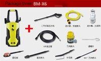 Lave-vaisselle portatif de voiture électrique 110V-127V / 220V-230V 1500W Car Wash Machine de 80bar haute pression