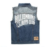 bbc jeans - Fall Fashion Brand BBC Denim Vest Billionaire Boys Club Golds Gym Tank Top Bodybuilding Clothing Jeans Sport Regata Masculina