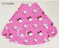 Cheap baby overclothes there is a waterproof cloth lining inside of Overclothes chest THE cartoon fabric is cotton twill FABRIC COMFORTABLE
