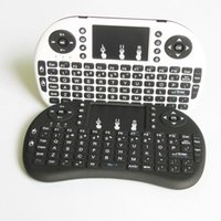 Wholesale Rii Mini I8 Air Mouse G Wireless Remote Control Touchpad Handheld Keyboard For MX III M8 CS918 MXQ Android TV BOX Tablet