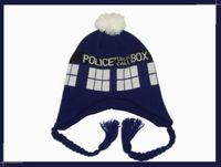 hat box - Doctor Who Tardis Police Box Cosplay Knitting Hat