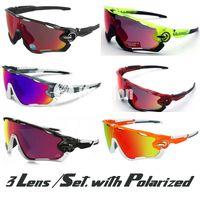 Wholesale 2015 New Fashion Lens Brand Polarized Jawbreaker Sunglasses For Men Women Sport Cycling Bicycle Mens Sunglasses Sun Glasses