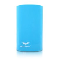 Wholesale MOAOL mAh battery charger large capacity portable cell phone USB charge power bank for iphone Samsung HTC xiaomi ect