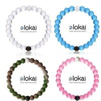Wholesale Hot Sale Eco Friendly Health Silicone Bracelet Popular Pure Color Beads Bracelet With Mud And Water Fashion Lokai Bracelet