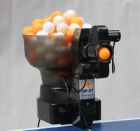 ball throwing machine - spin Portable Table Tennis robot ping pong robot Table tennis ball machine automatic throwing
