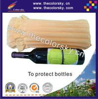 Wholesale CSAP SC air bubble plastic packing bag protective for laptop wine bottles toner cartridge electric product glass product