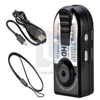 Wholesale Q5 Black Smallest Mini Thumb HD P DV Camera Digital Motion Detection Camcorder Recorder Support For SD TF Card