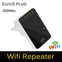 Wholesale Licensed Product Wireless N Router AP Repeater Booster WIFI Amplifier Client Bridge IEEE b g n Mbps EU US Plug