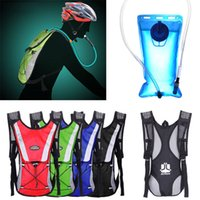 Wholesale Rainbow colorful big Water Bladder Bag Backpack Hydration Packs Hiking Camping L Best Quality