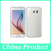 Wholesale S6 SM G9200 Android KitKat inch Quad Core MTK6582 M GB can show G G WiFi GPS metal body