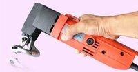 Wholesale Industrial W electric scissors Electric metal nibblers shears metal cutter