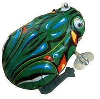 Wholesale New arrival Hot sale Metal frog Wind up frog Lovely classic type frog toy Child gift toy