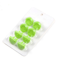 Wholesale Adorable Green Socket Covers Valuable Protective Electrical Socket Covers PP Material Unique Outlook High Quality