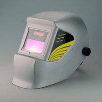Wholesale New Year special export of high quality European and American auto darkening welding helmet interior color number silver tone WH