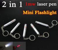 Cheap Mini Flashlight 2 in 1 laser pen Best laser pen