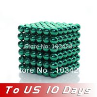 neo magnet - DarkGreen Buckyballs Neo Neodymium Magnets Magnet Balls Spheres DarkGreen Puzzle Fun Toy Gift TO US DAYS