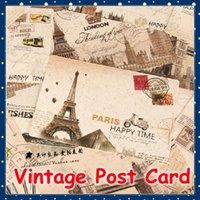 Wholesale FORREST SHOP School Office Stationery Vintage Postcards Set Greeting Post Cards Gift Postal Card FRS