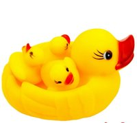 Wholesale Take a shower yellow duck toy Infants and young children squeezed called bath toys street source of selling toys To report Purchas