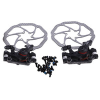 avid brake parts - Hot C Disc Brake For Bike Bicycle Parts Calipers Front Rear Set with Avid HS1 Rotors160mm frenos disco mtb BHU2
