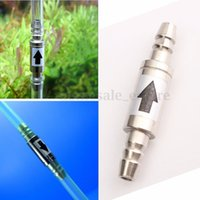 Wholesale ISTA One Way Stainless Steel Check Valve I962 For Aquarium Co2 System Air Pump