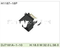 amp housing - H1187 PIN DJ7181A automotive and electrical AMP TYCO housing male connector