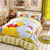 baby bedding pooh - Cozy Blue Winnie Pooh And His Friends Bedding Dot Baby Comforter Set Bedding Sets