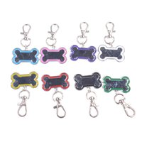 Wholesale Fashion Dog ID Tag Bone Shape Pet Pendant Cute Metal Dog Cat Tag Pet Tag