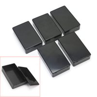 Wholesale 5Pcs Plastic Electronic Project Box Enclosure Instrument Case x60x25mm Hot