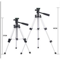 Wholesale 2016 Adjustable Phone Camera Tripod Lightweight Stands Stabilizers Top Quality New Arrival Brand New Hot