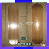 bamboo skateboard deck - Promotion Longdream BD1 High Flexiable quot Bamboo Deck Skateboard Longboard Deck