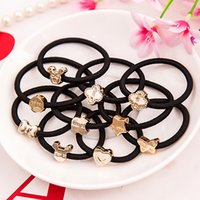 Wholesale A04 Korean hair accessories head flower hair band rubber band Tousheng hair tie rubber band hair rope headdress holster