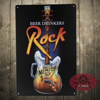 auto drinker - TIN SIGN Beer drinkers Rock Metal Decor Art Auto Shop Garage A Christmas gift
