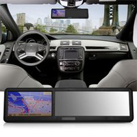 antenna transmission - 4 quot Capacitive Touch Screen Car GPS Navigation Bluetooth Rearview Mirror EU Map Support FM Transmission Micro SD TF card