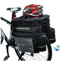 Wholesale The three in one back pack a bicycle tail package shelf package bike back pack large capacity