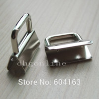 Wholesale Hardware Clamps Key Fob Hardware For keychain Split ring wrist Wristlets Cotton quot mm