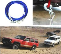 Wholesale Tonne Meters Emergency car tow rope synthetic winch cable