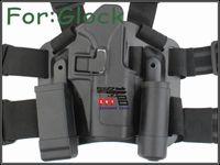 Cheap CQC Glock 17 Tactical Holster Platform Black free shipping