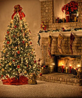 Wholesale Printed Photography Background Christmas Sparkle lights Backdrop x6ft XT