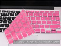 Wholesale Fashionable Keyboard Protector Silicone Soft Case Cover For Apple Macbook Pro Air inch