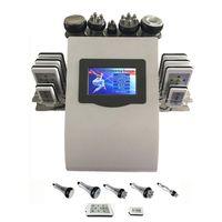 Wholesale lipolaser cavitation RF slimming machine home use beauty machine vacuum cavitation MHZ rf