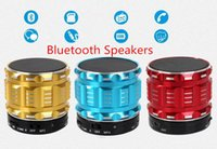 Cheap Mini Bluetooth Speakers Metal Steel Wireless Smart Hands Free amplifier With FM Radio Support SD Card For iPhone SAMSUNG Android