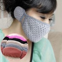 Wholesale winter warm mask with earmuffs earmuffs and mask Cotton masks ear muffs ear warmers winter face mask Z351
